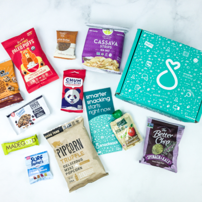 SnackSack June 2019 Subscription Box Review & Coupon – Classic