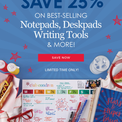 Erin Condren Fourth of July Sale: Get 25% Off Notepads, Writing Tools & More!