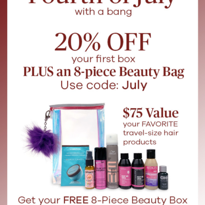 VineOh! Box Fourth of July Sale: Get 20% OFF + Free Beauty Box!