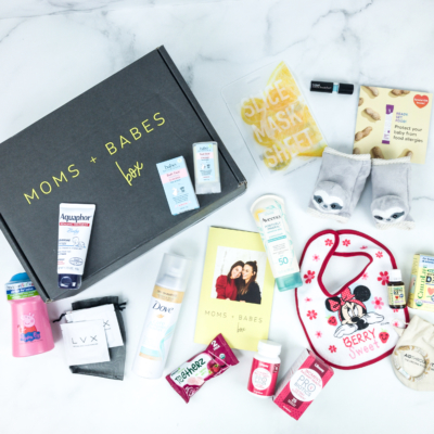 Moms + Babes Summer 2019 Subscription Box Review + Coupon – INFANT BOX