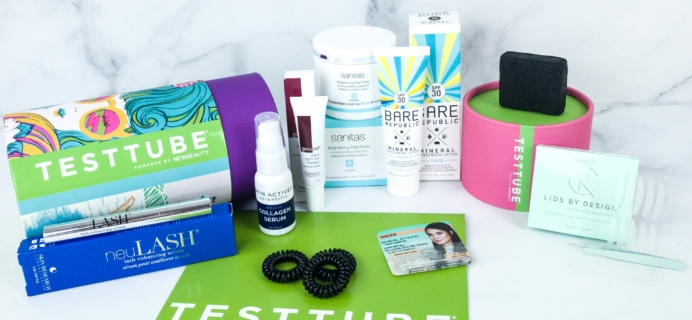 New Beauty Test Tube July 2019 Subscription Box Review