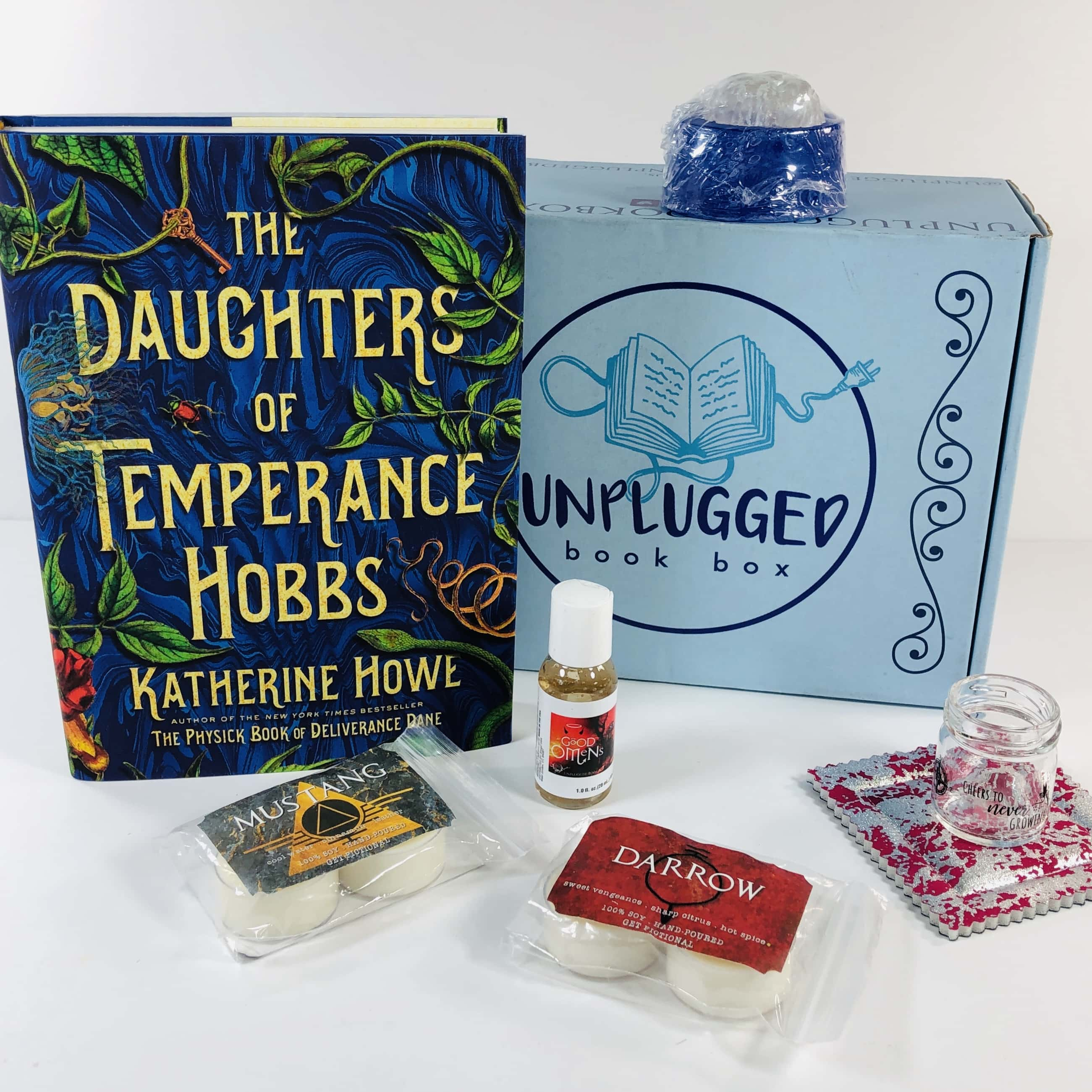 Unplugged Book Box July 2019 Adult Fiction Subscription Box Review + Coupon!