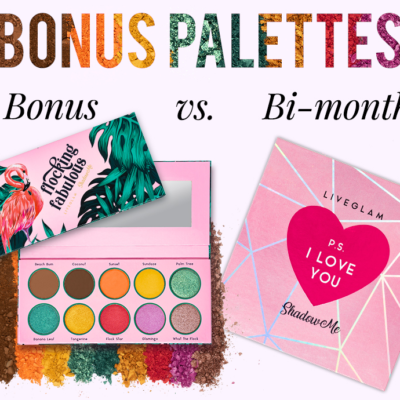 LiveGlam ShadowMe Bonus Palette Available Now + Coupon!