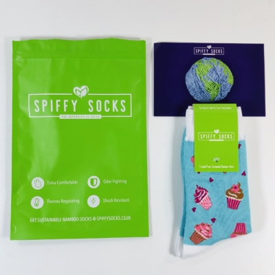 Spiffy Socks July 2019 Subscription Box Review  + Coupon
