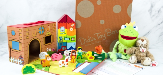 Didis Toy Box July 2019 Subscription Box Review & Coupon