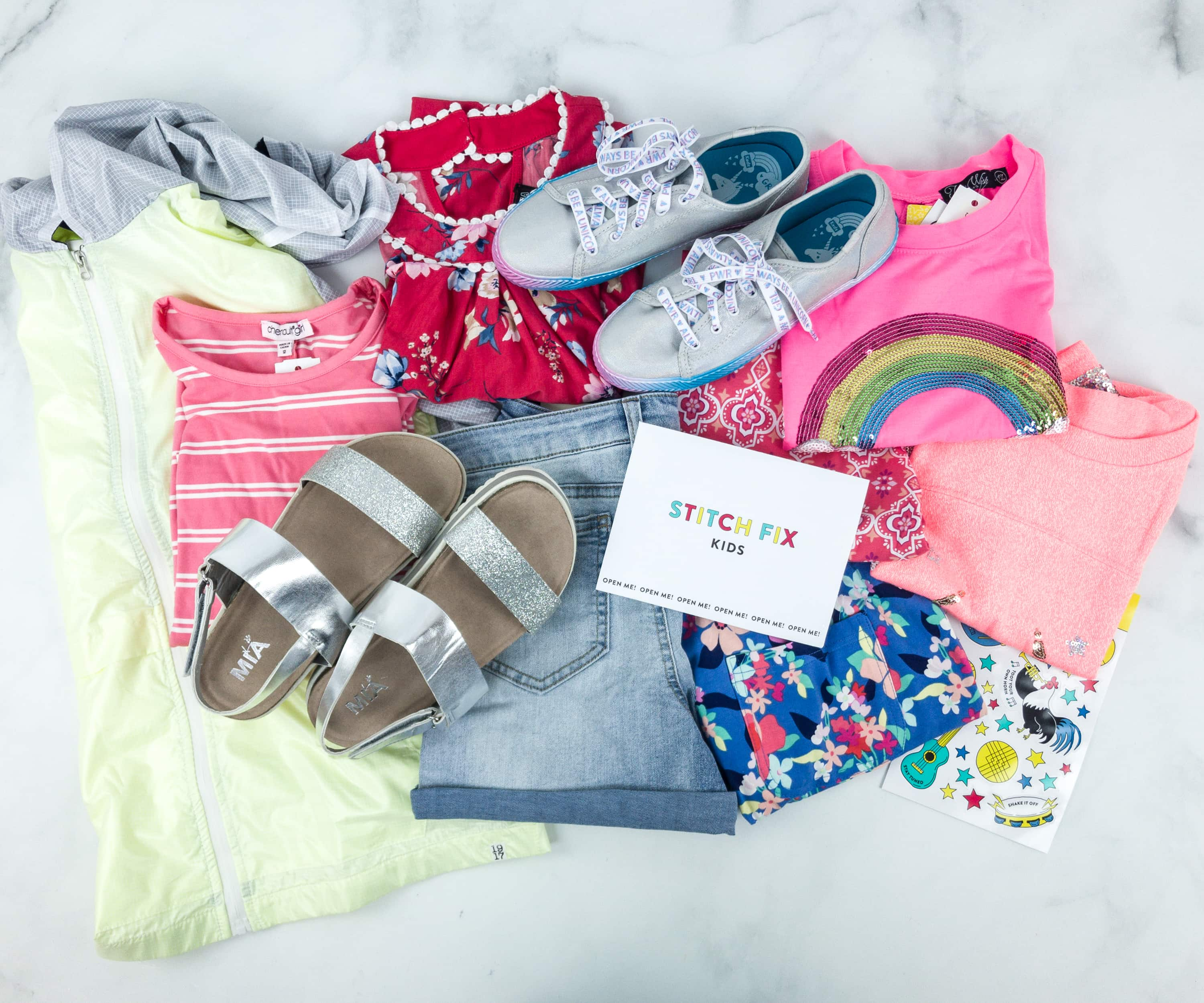 Stitch Fix Kids June 2019 Girls Review