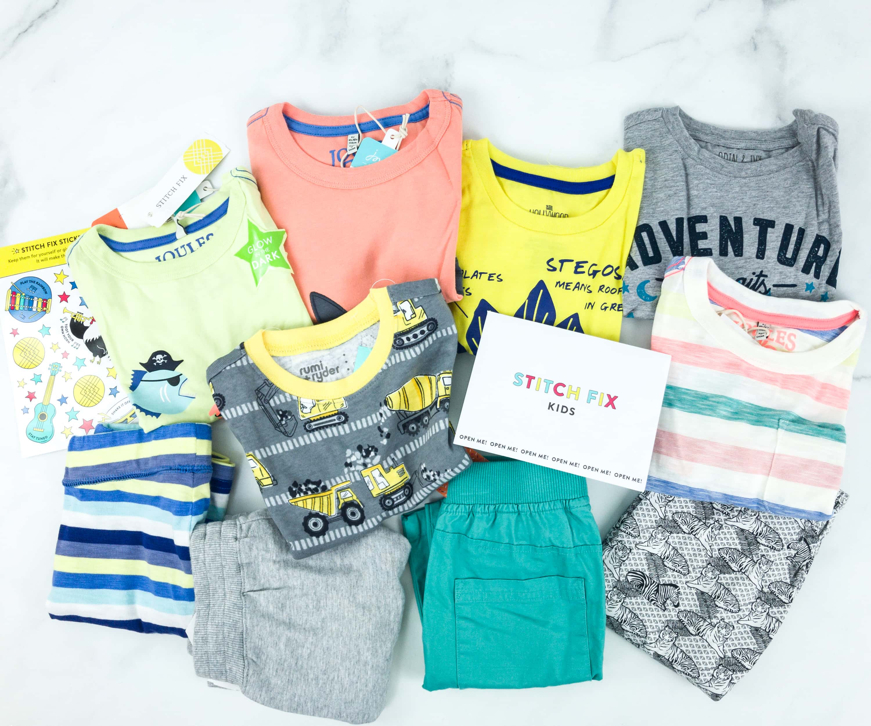 Stitch Fix Kids Review – Little Boys May 2019