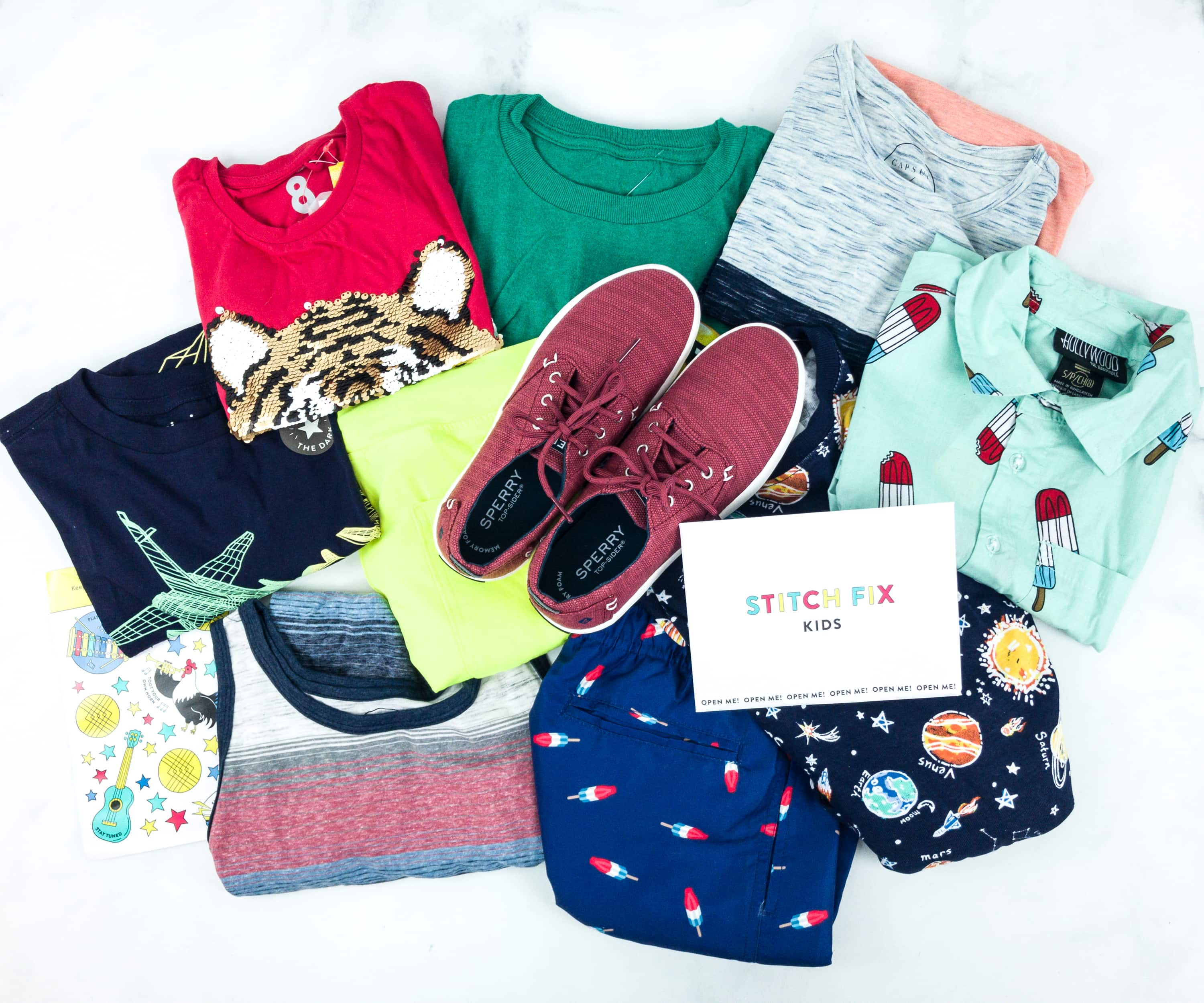 Stitch Fix Kids June 2019 Boys Review