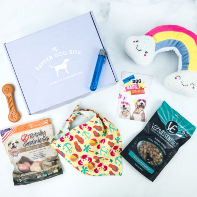 The Dapper Dog Box July 2019 Subscription Box Review + Coupon