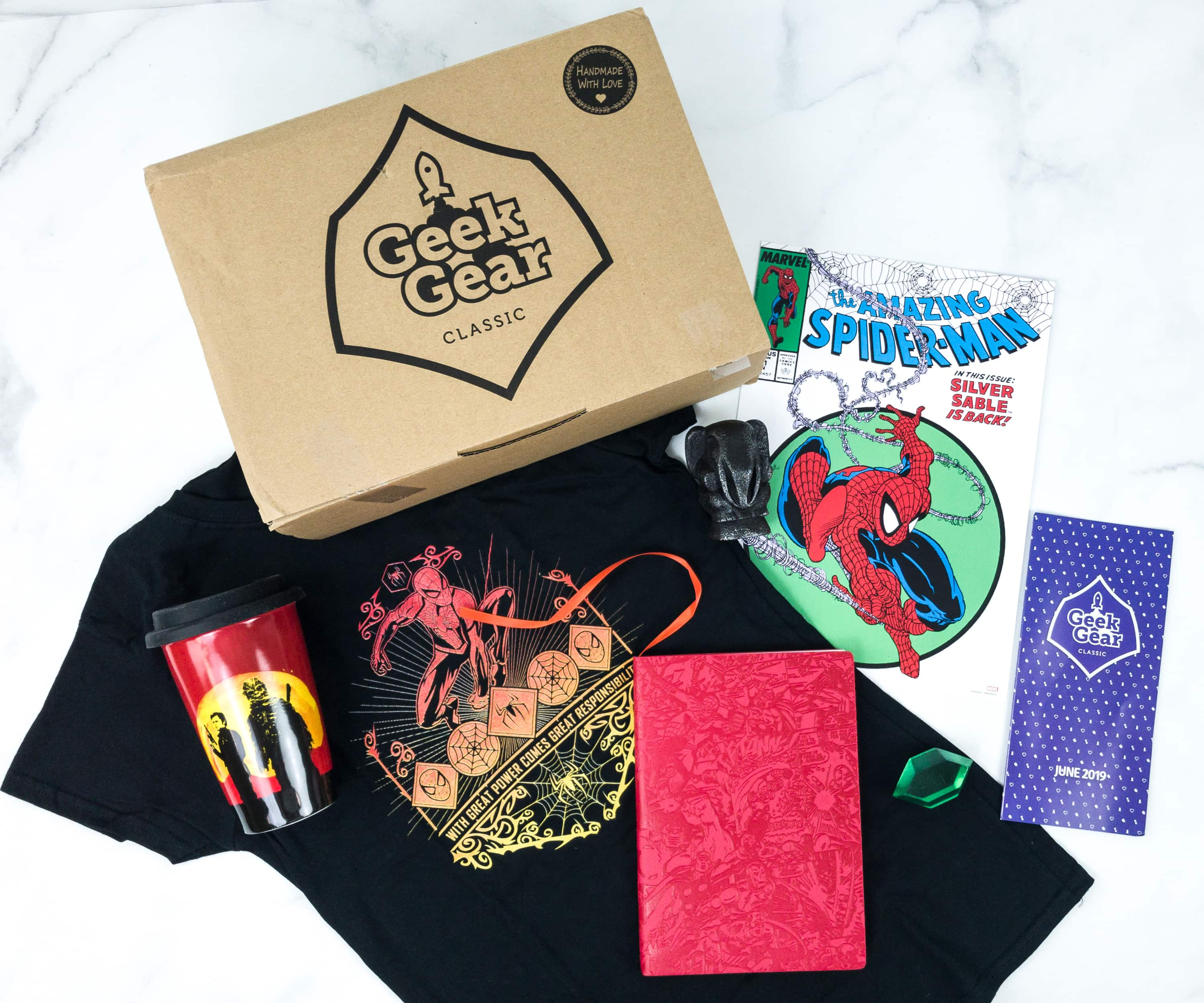 Geek Gear Box June 2019 Subscription Box Review + Coupon