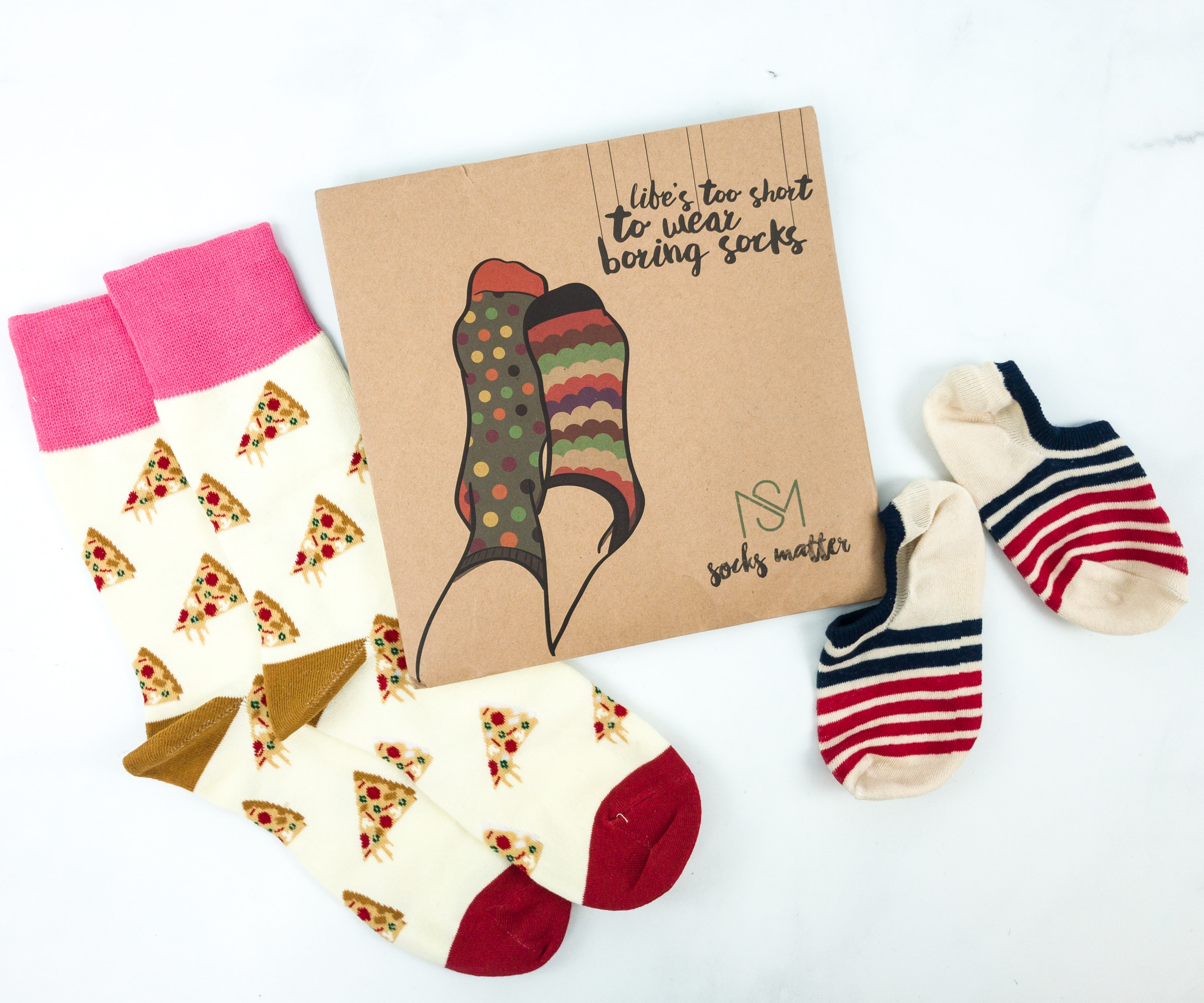 Socks Matter June 2019 Subscription Box Review + Coupon