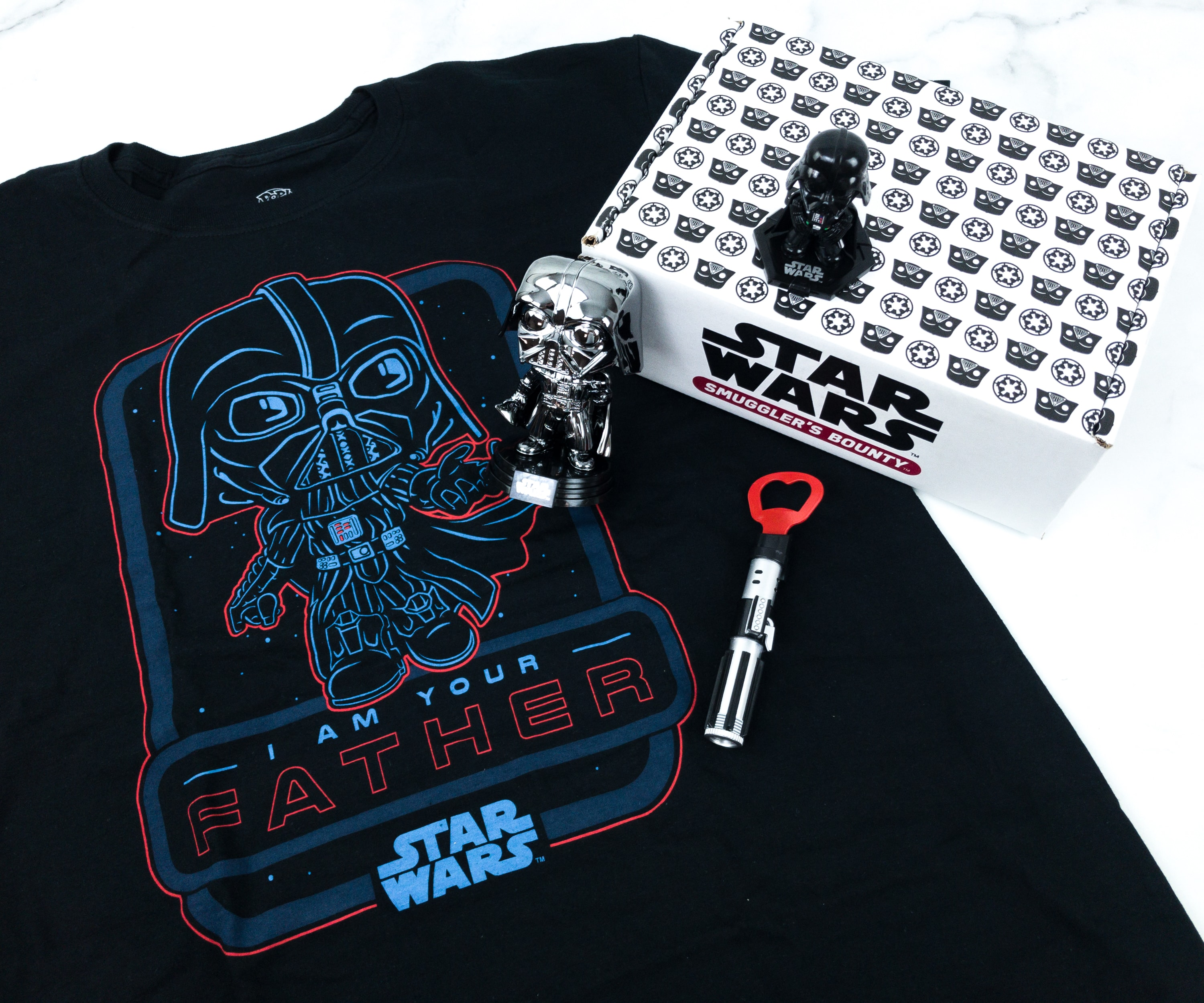 Smuggler's Bounty June 2019 Subscription Box Review – VADER Box!
