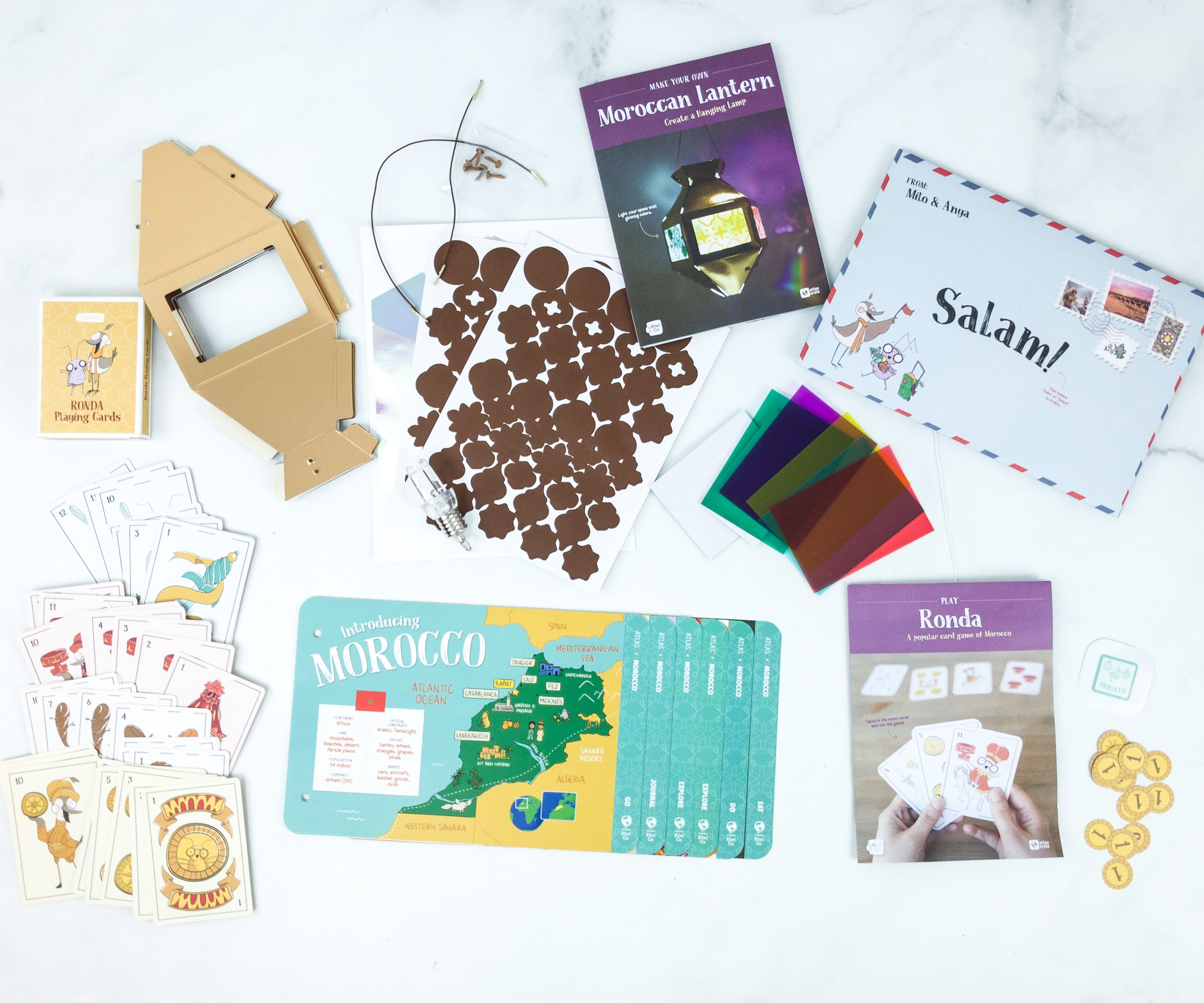 KiwiCo Atlas Crate Review & Coupon – MOROCCO June 2019