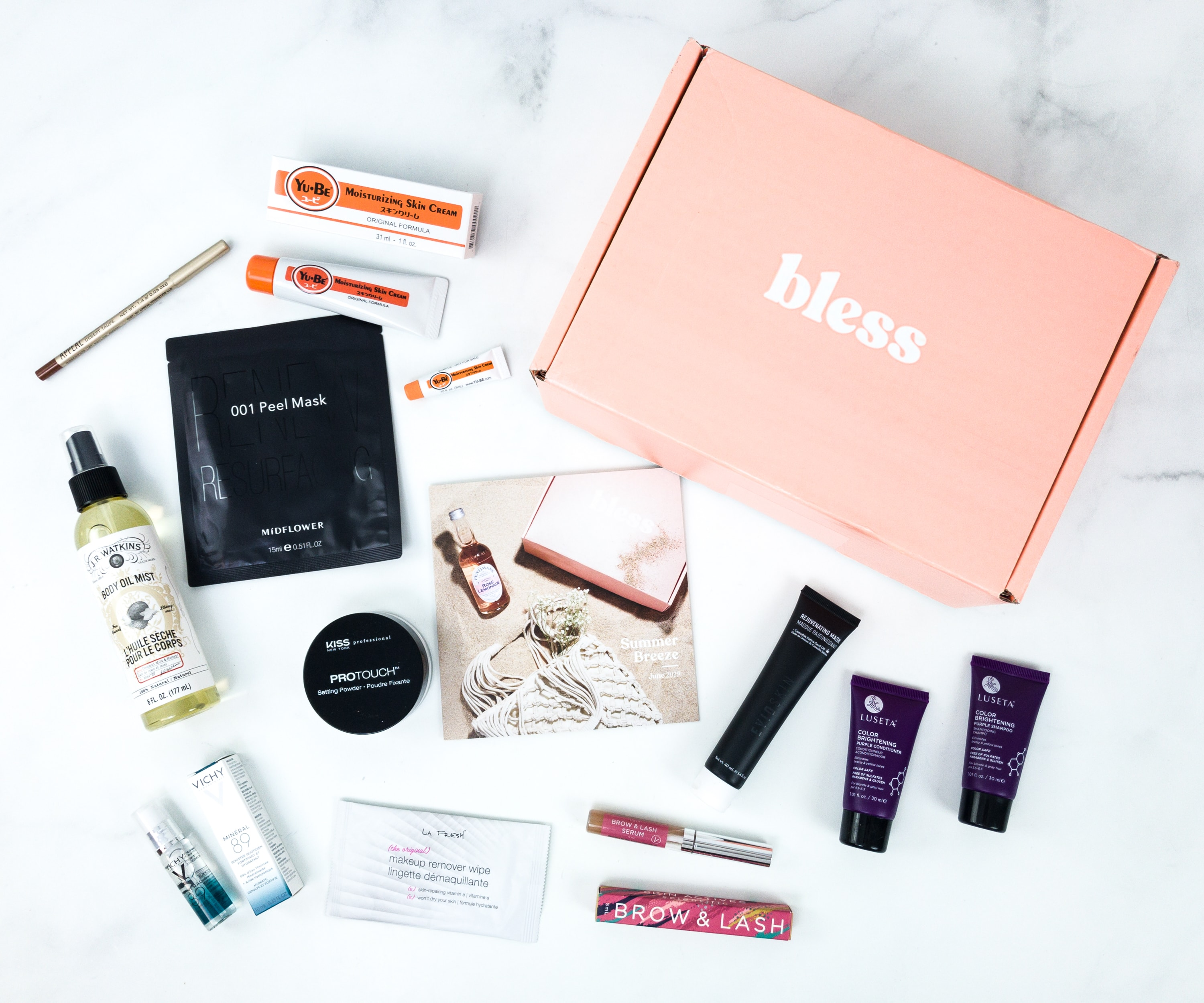 Bless Box June 2019 Subscription Box Review & Coupon