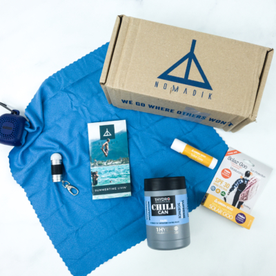 Nomadik June 2019 Subscription Box Review + Coupon