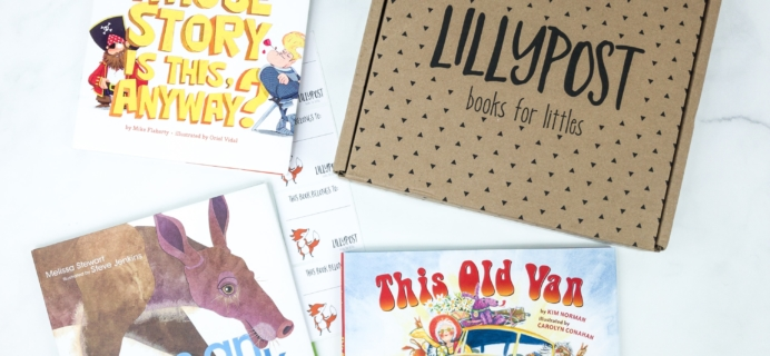 Lillypost July 2019 Board Book Subscription Box Review – PICTURE BOOKS