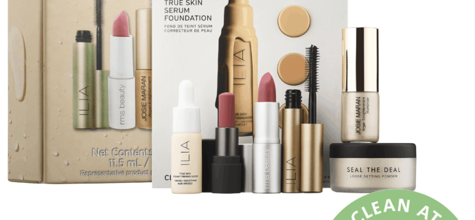 New Sephora Kit Available Now + Coupons – Clean Makeup Kit!