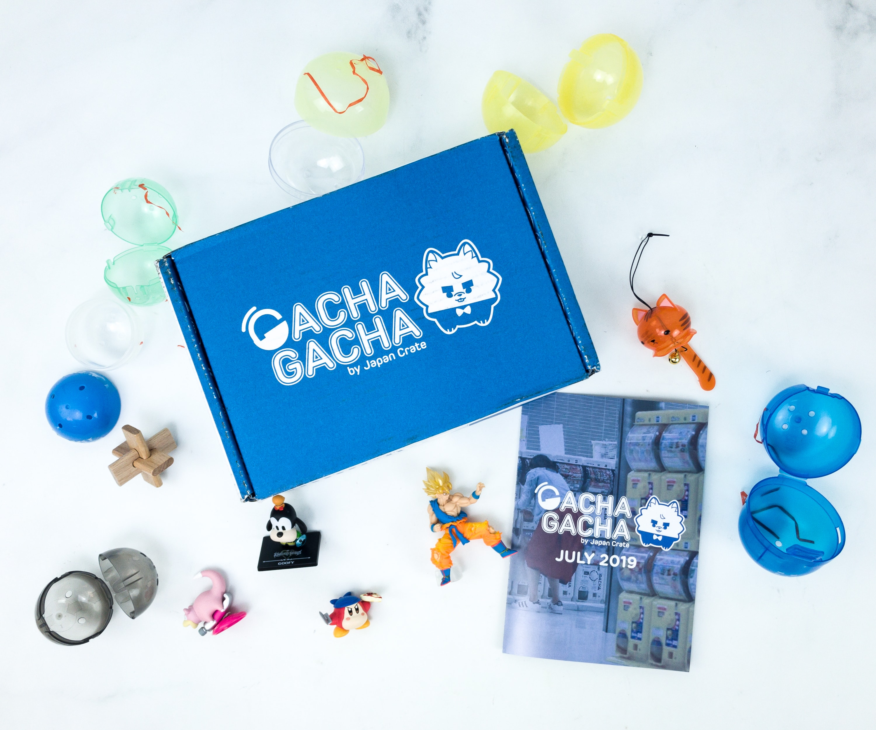 Gacha Gacha Crate July 2019 Subscription Box Review + Coupon