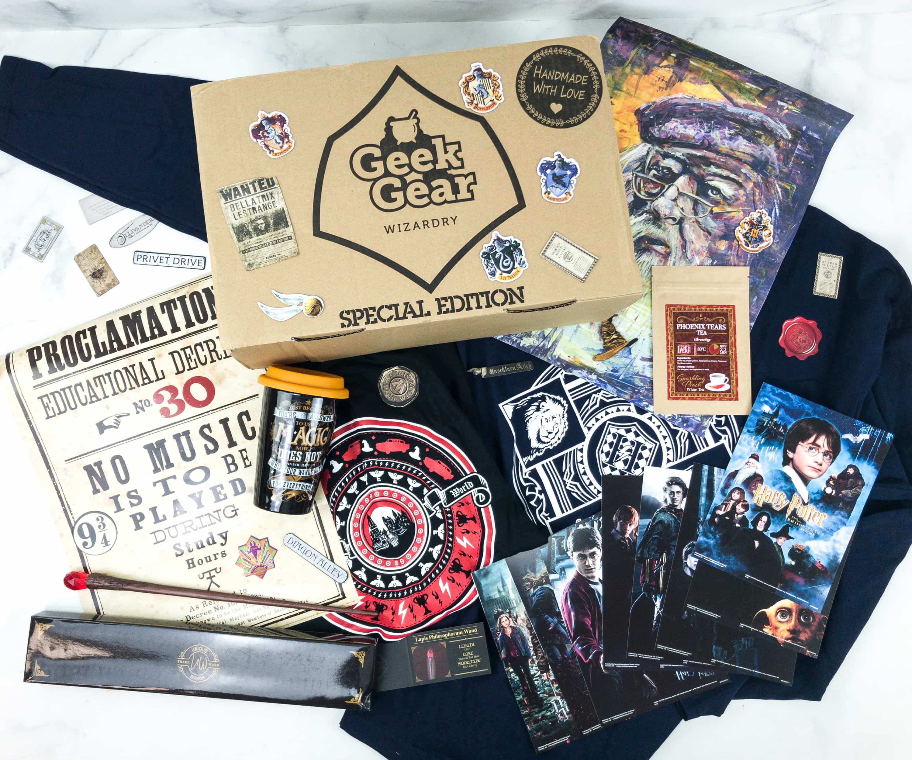 Geek Gear World of Wizardry June 2019 Special Edition Box Review