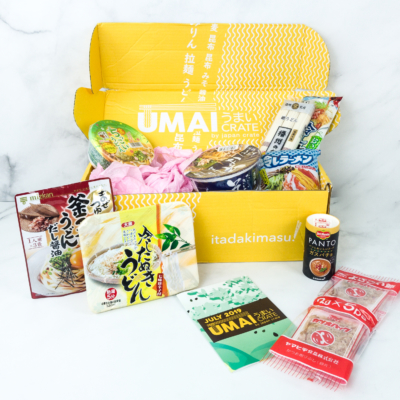 Umai Crate July 2019 Subscription Box Review + Coupon
