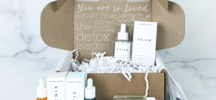 The Detox Box July 2019 Subscription Box Review