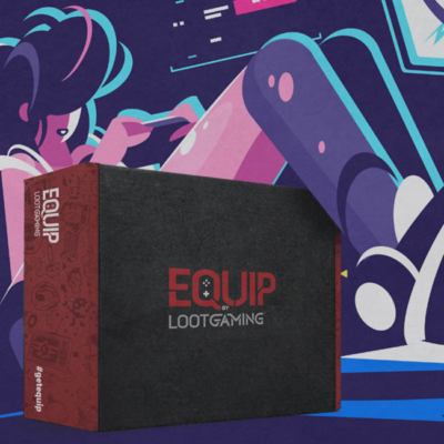 Equip by Loot Gaming Available Now: New Subscription Box by Loot Crate + Franchise Spoilers!!