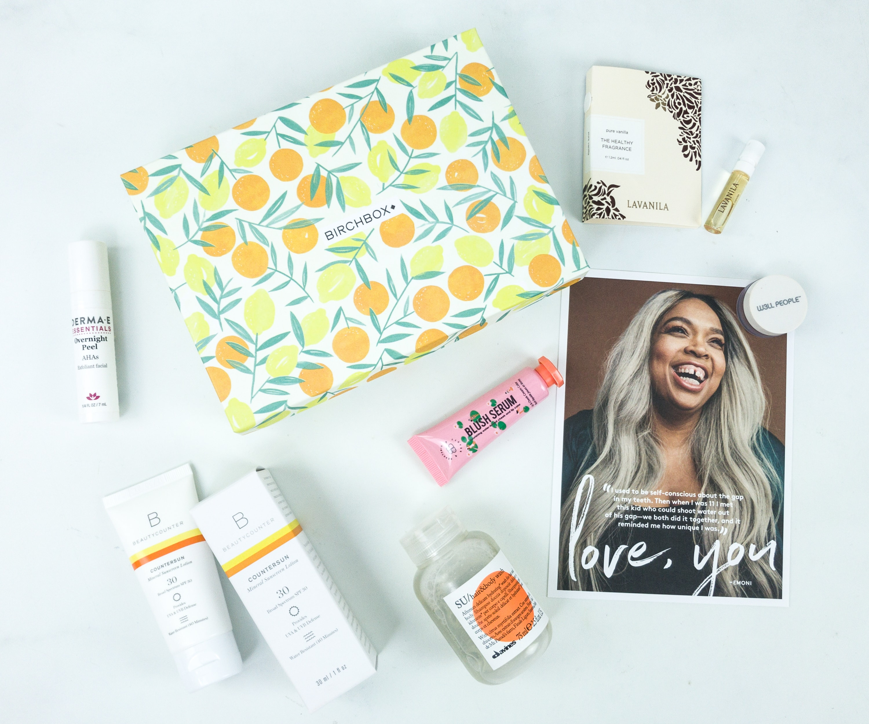 July 2019 Birchbox Subscription Box Review & Coupon – Curated Box #1