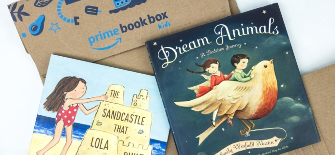 Amazon Prime Book Box Kids Review + Coupon – AGE 3-5 June 2019