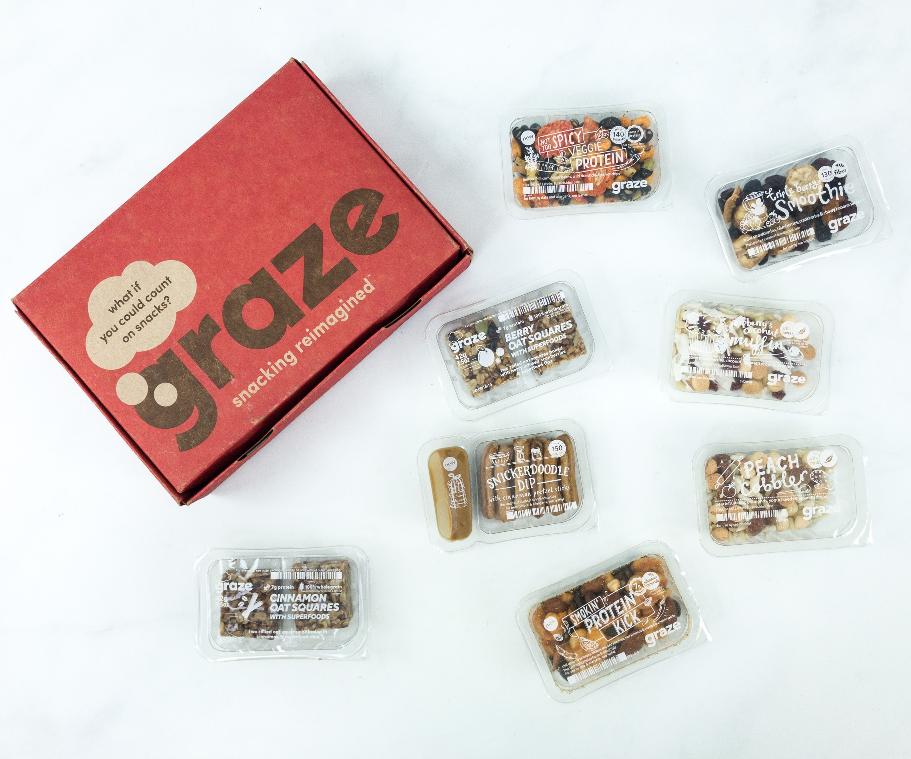 July 2019 Graze Variety Box Review & Free Box Coupon