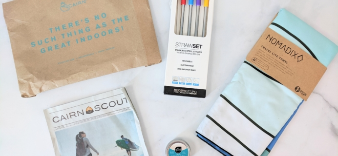 Cairn July 2019 Subscription Box Review + Coupon