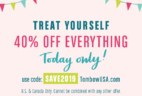 Tombow Flash Sale: Get 40% Off Everything – TODAY ONLY!