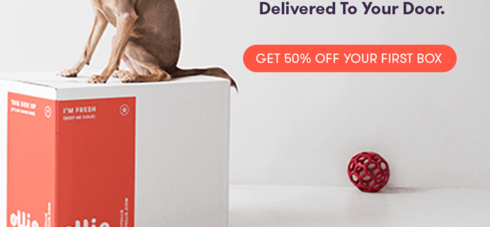 Ollie Dog Coupon: Get 50% Off First Box!