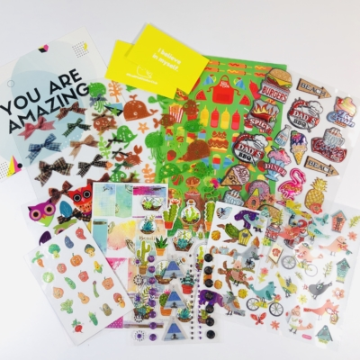 Snail Mail Sticker Club July 2019 Subscription Box Review + Coupon