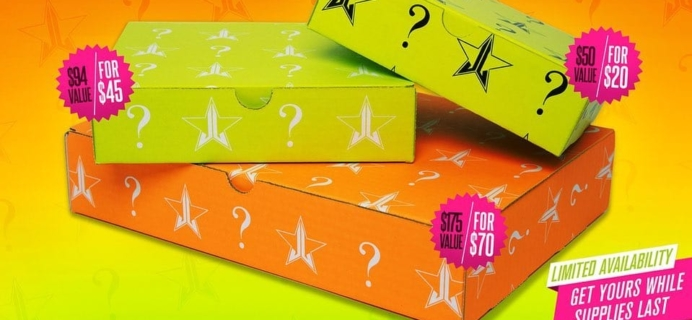 Jeffree Star Mystery Box Summer 2019 Edition Available Now!