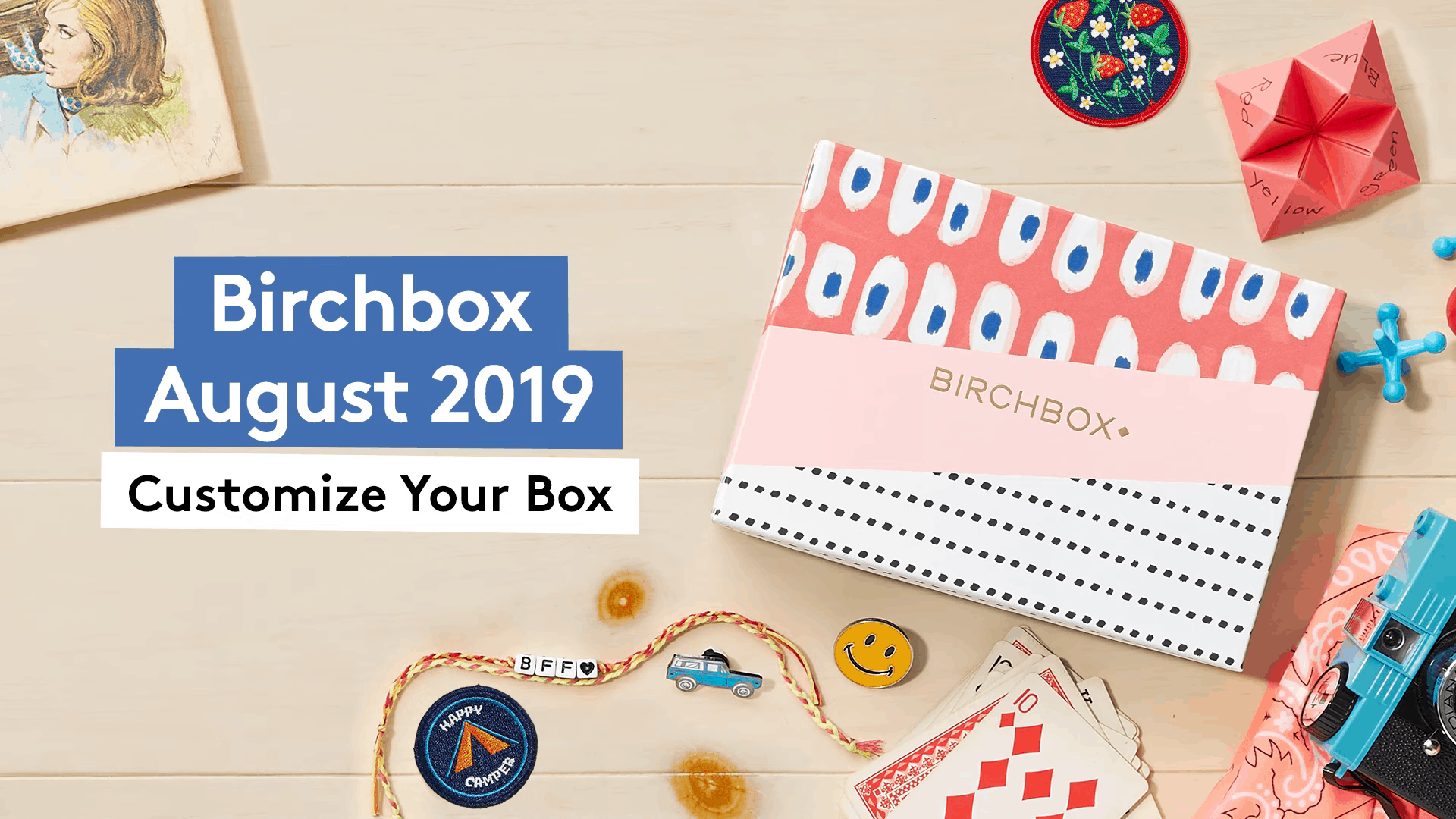 Birchbox August 2019 Selection Time!