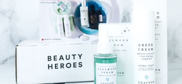 Beauty Heroes July 2019 Subscription Box Review