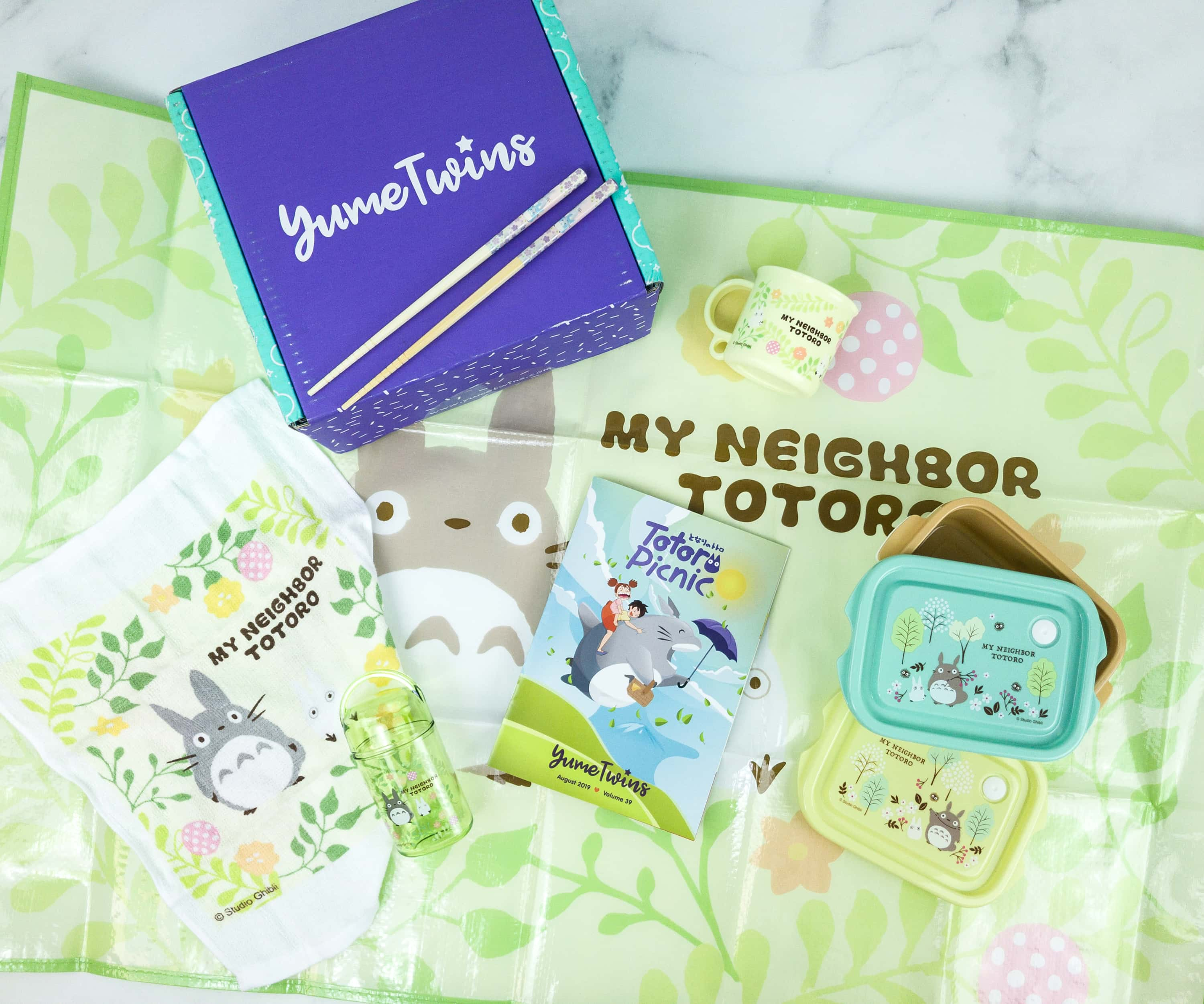 YumeTwins August 2019 Subscription Box Review + Coupon