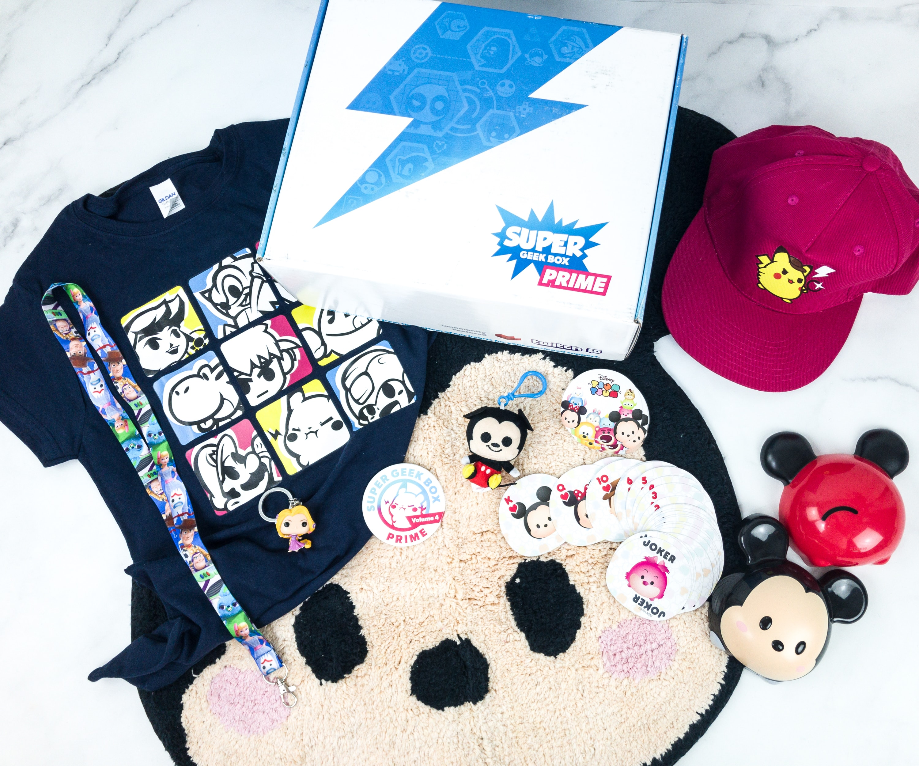 Super Geek Box PRIME Summer 2019 Subscription Box Review + Coupon