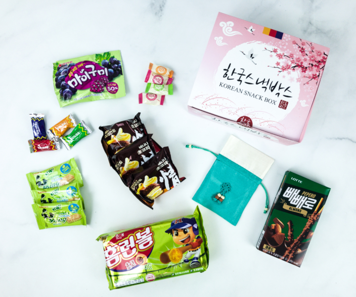 Korean Snack Box July 2019 Subscription Box Review