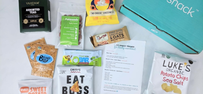 FitSnack June 2019 Subscription Box Review & Coupon