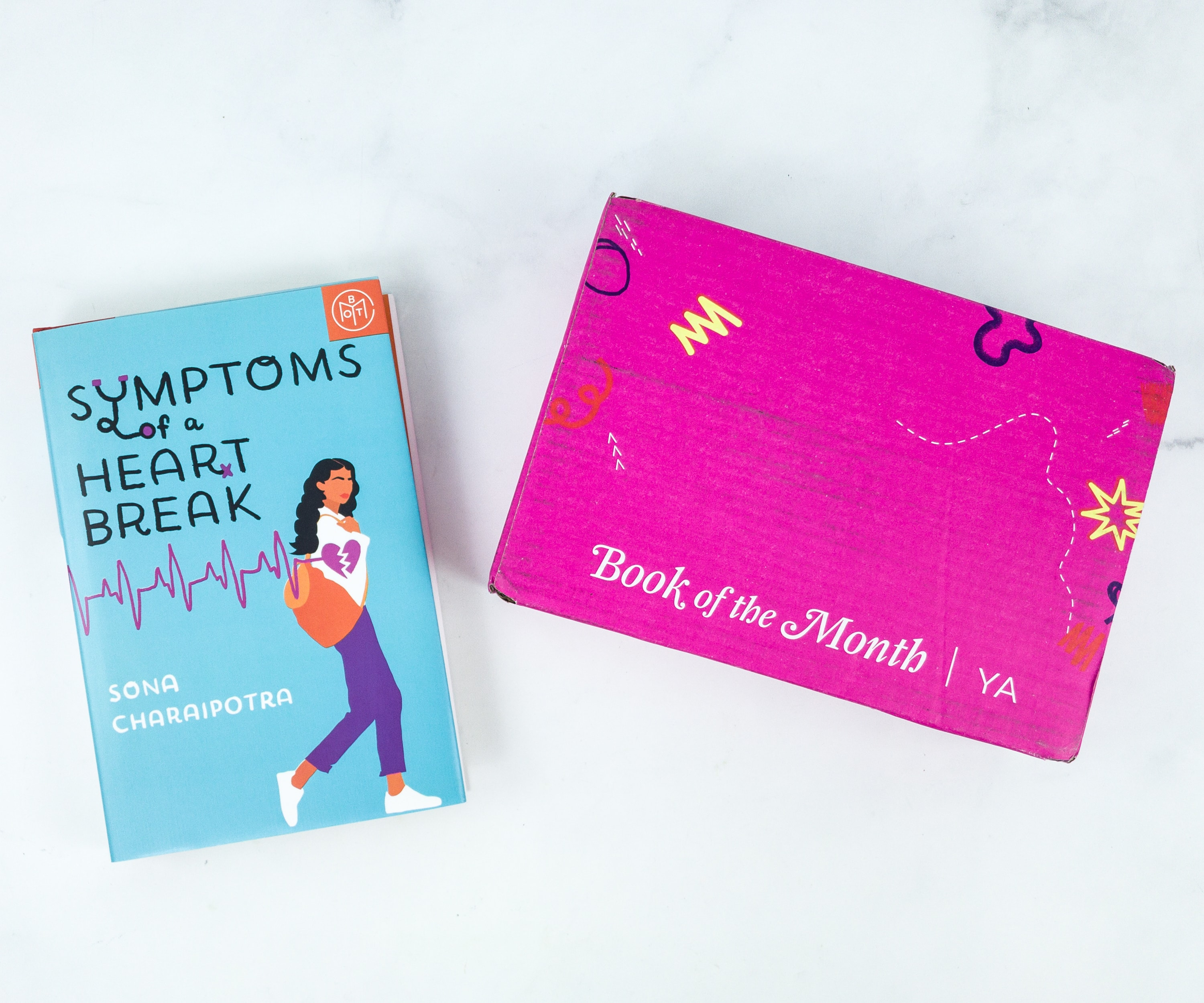 Book of the Month YA July 2019 Subscription Box Review + Coupon