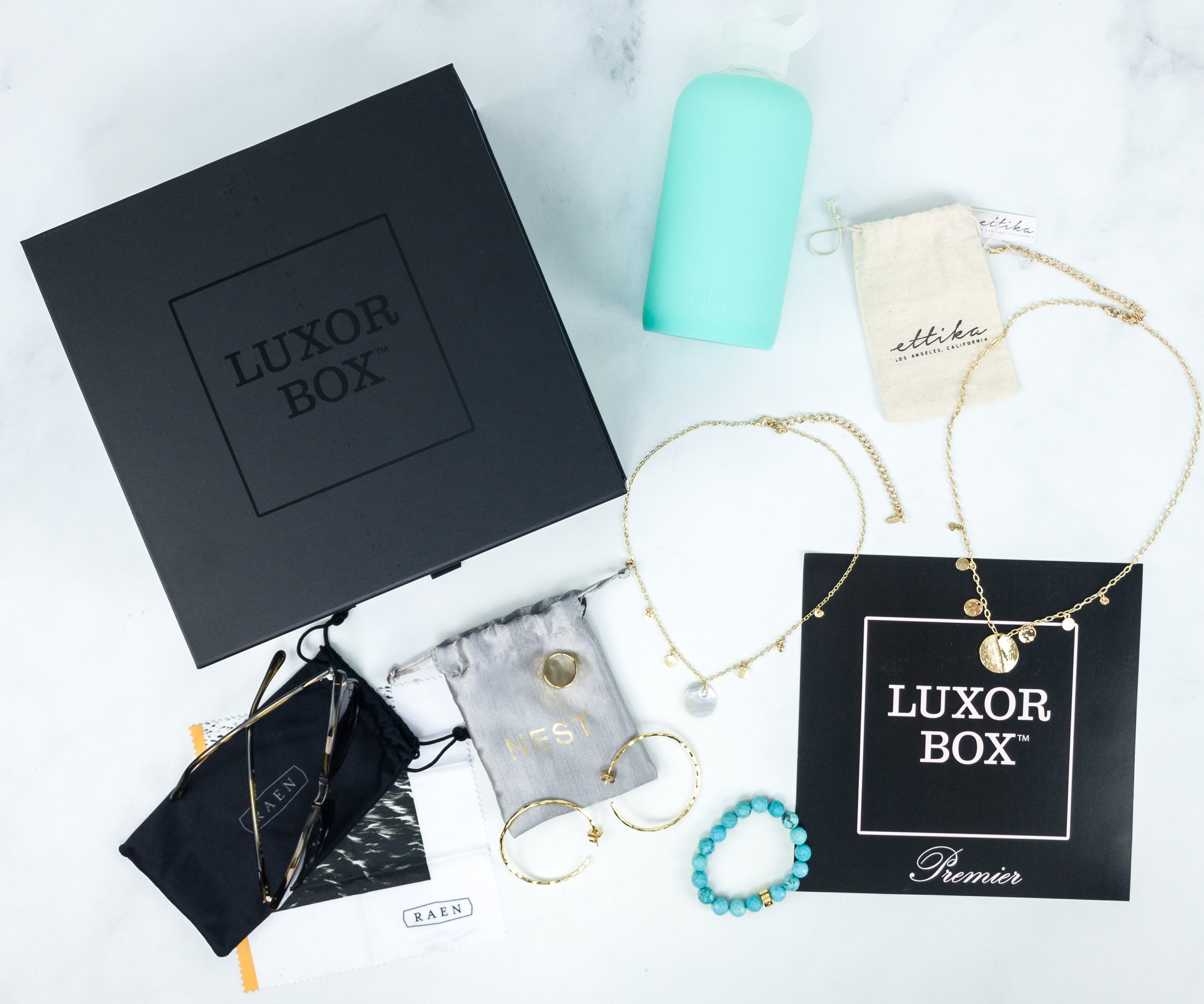 Luxor Box July 2019 Subscription Box Review