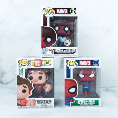 Pop In A Box July 2019 Funko Subscription Box Review & Coupon