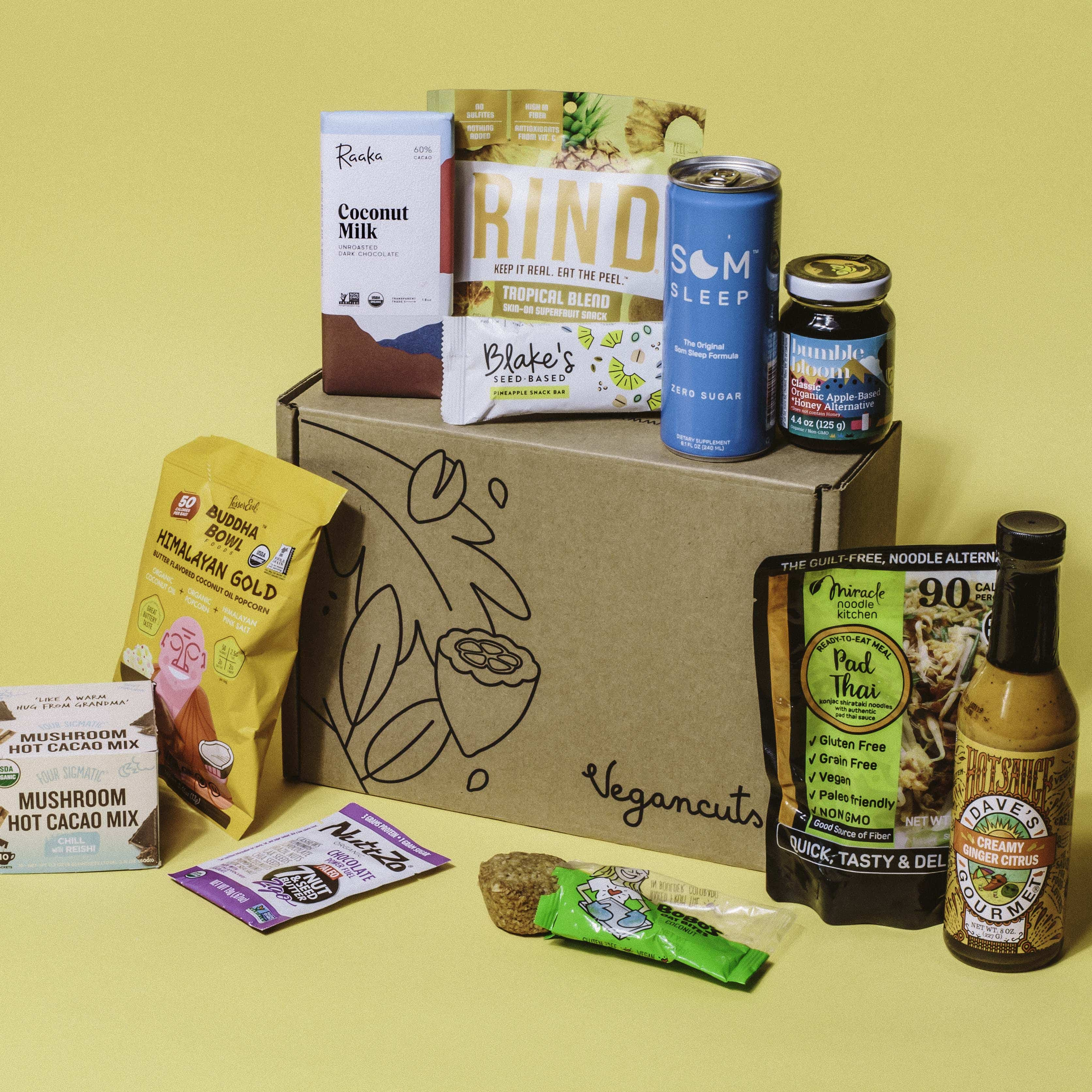 Vegancuts October 2019 Snack Box Spoilers!
