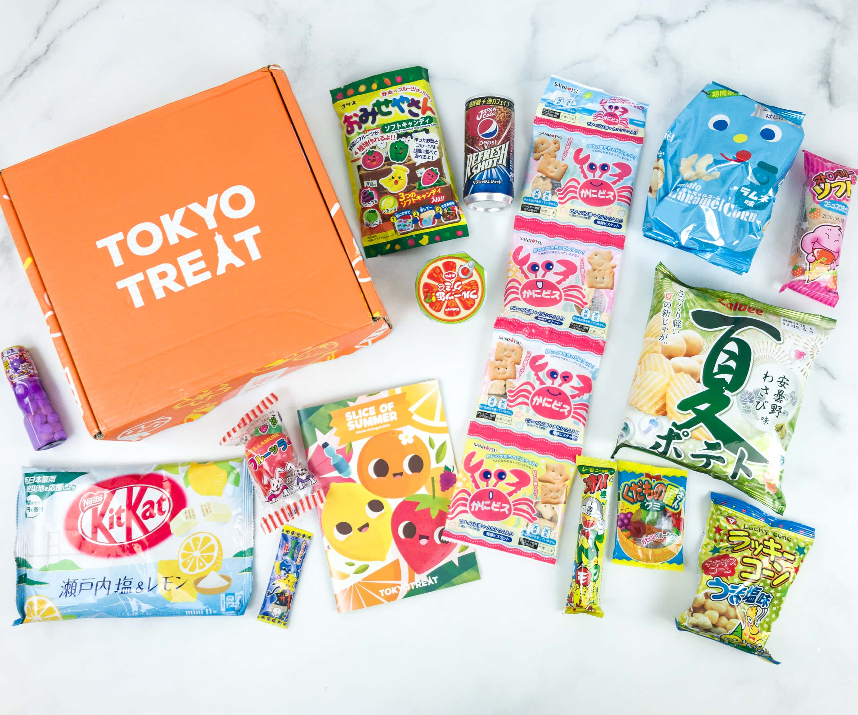 Tokyo Treat August 2019 Subscription Box Review + Coupon