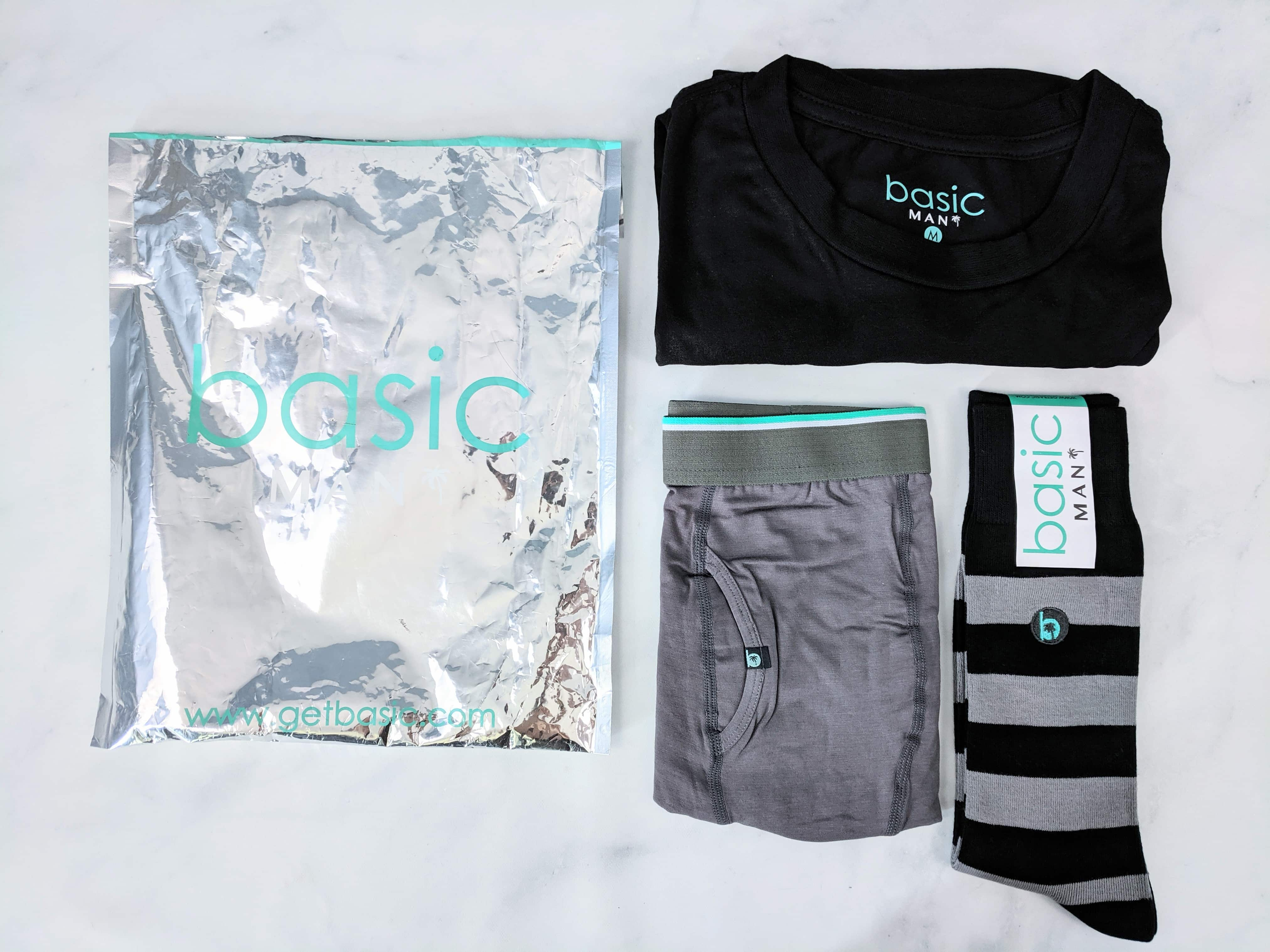 Basic MAN Subscription Box July 2019 Review + 50% Off Coupon