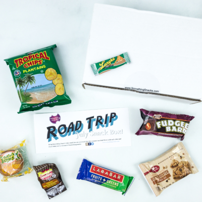 Something Snacks July 2019 Subscription Box Review