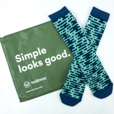Wohven Socks Subscription July 2019 Review + Coupon!