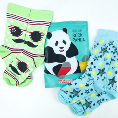 Sock Panda Tweens July 2019 Subscription Review + Coupon