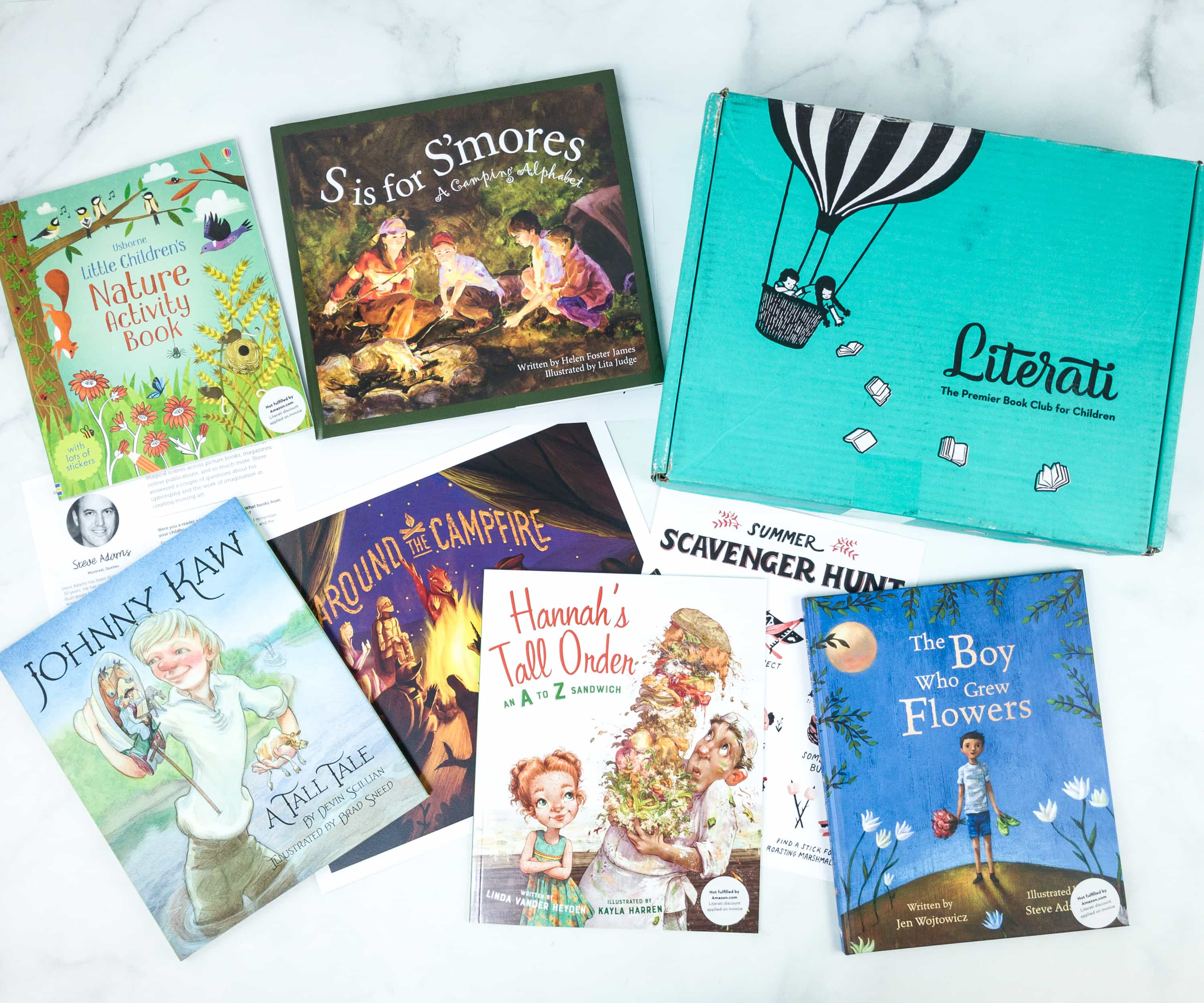 Literati Club Nova Box Review + Coupon – July 2019
